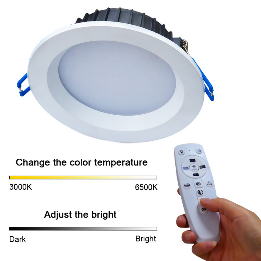 jiawen 2 4g 12w dimmable ceiling light recessed led downlight for